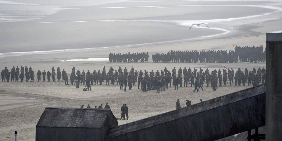 Dunkerque tournage