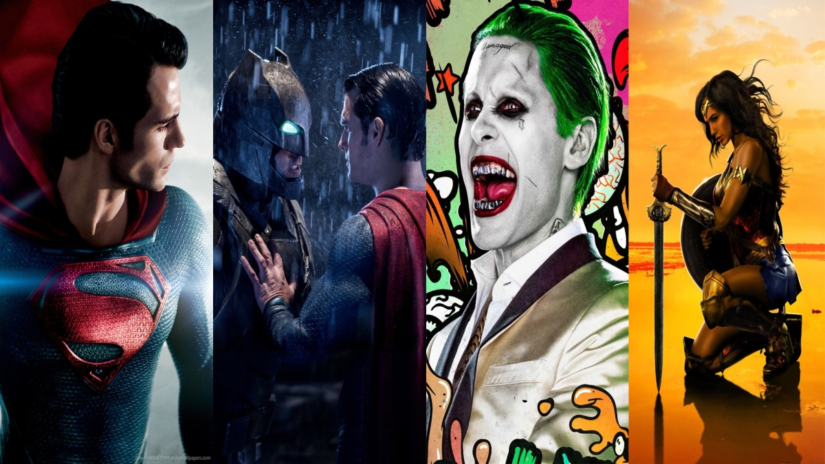 The DC Extended Universe Films Ranked