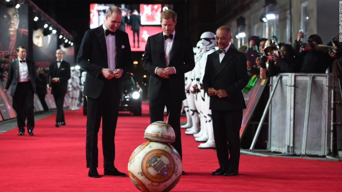'Star Wars The Last Jedi': Princes William and Harry Cameos Cut From the Film
