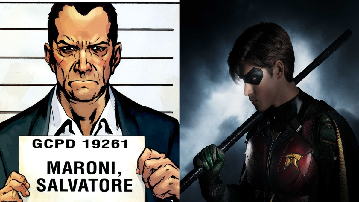 'Titans:' New Production Photos Confirm Maroni Crime Family Presence