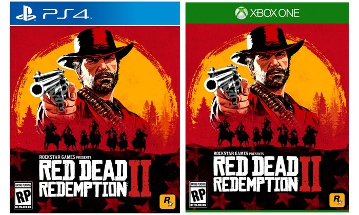 red dead 2 cover